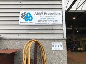 Samenwerking tussen AMW Propellers en Moordtgat bvba