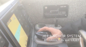 Hamilton Jet Jet Anchor System