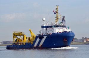 Supply Vessel Scheepsschroef AMW-MARINE