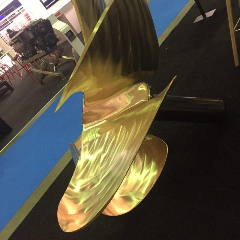 Scheepsschroef AMW-Propeller 4 blads 1.700 mm