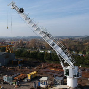 Offshore Crane Telescopic AHC for sale NEW