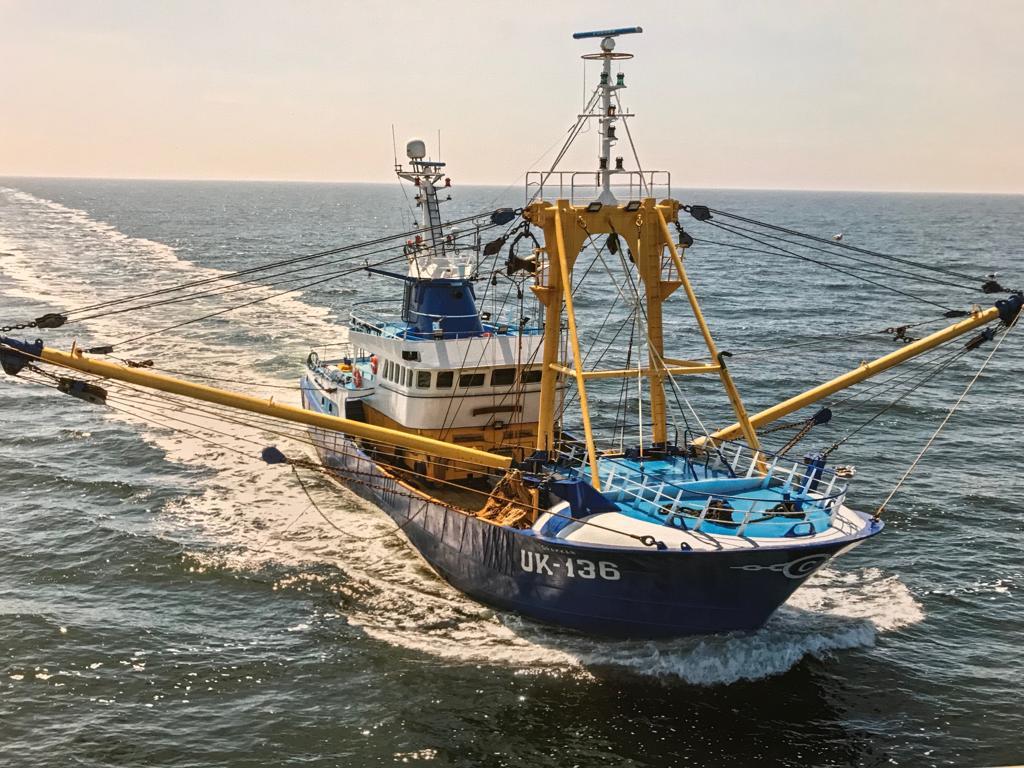 Scheepsschroef Vissersschip UK136
