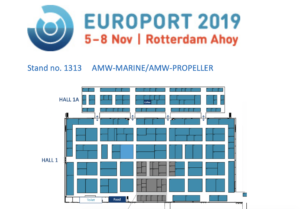 Europort 2019 stand 1313