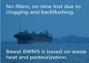 Ballast Water beheersysteem Bawat