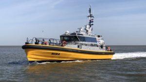 HamiltonJet voor nieuw Loodswezen schip NG-Shipyards