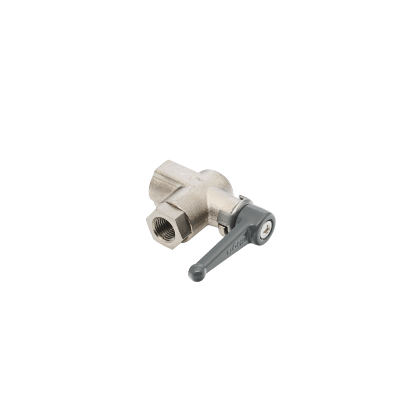 Filters Pressure Indicator shut off ball valve, brass
