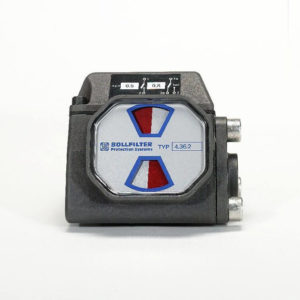 Filters Pressure differential switch indicator